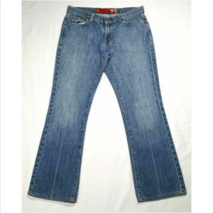 GUESS Jeans Boot Cut Low Rise Distressed 1672E1M